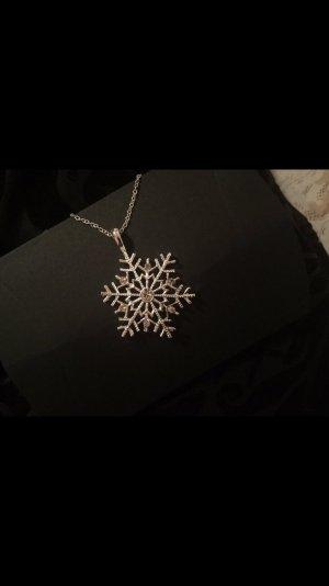Kette Schneeflocke - Swarovski Kristalle - NEU - geschenk