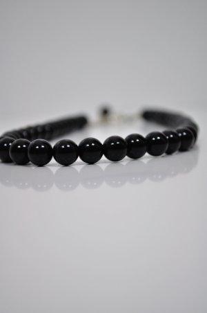 Kette Schwarze Perlen