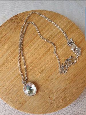 Swarovski Silver Chain silver-colored-light grey real silver