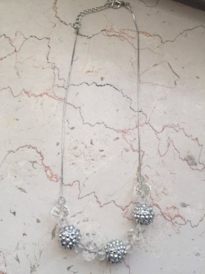 Statement Necklace silver-colored