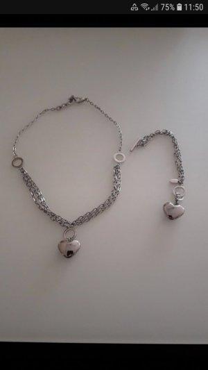 Lotus Collar color plata