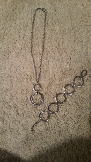 Fossil Chain silver-colored