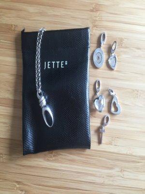 Jette Charm silver-colored