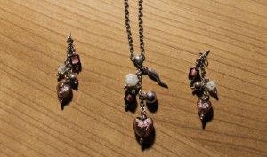 Kette und Ohrringe von S.Oliver in Echtsilber