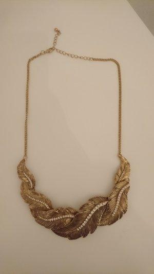 Bijou Brigitte Necklace silver-colored-gold-colored
