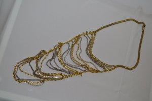 Kette von Mango MNG Neu Gold Silber