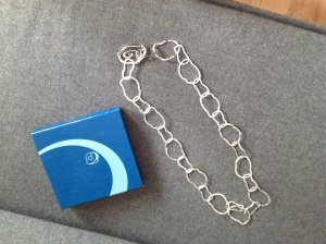 1--01 Babaton Necklace silver-colored stainless steel