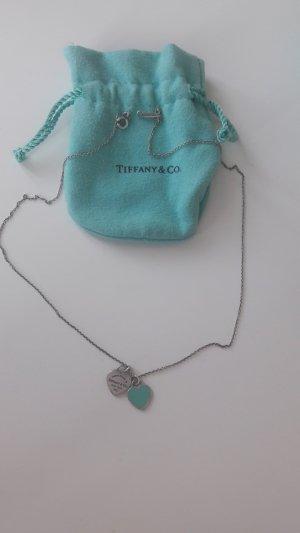 Tiffany&Co Collana grigio chiaro-turchese