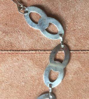 Ceinture en chaîne argenté