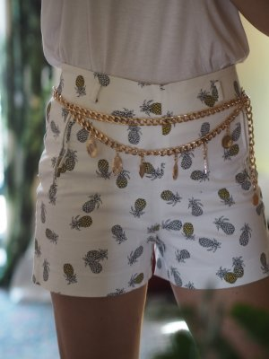H&M Chain Belt gold-colored