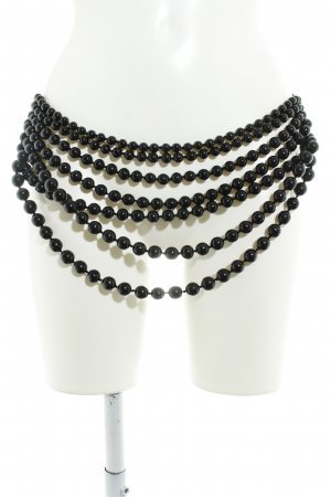 Chain Belt black extravagant style