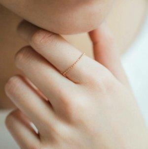 Anello d'oro color oro rosa