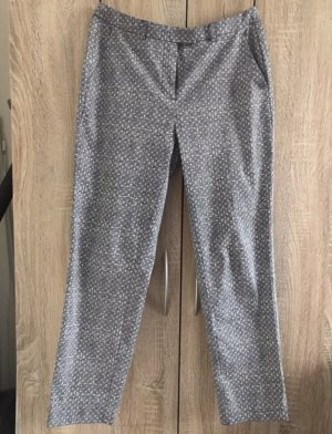 kew 159 Woolen Trousers white-dark blue