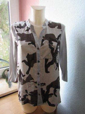 KEY LARGO | Ausgefallene 3/4-Arm-Bluse | Shirt | XS | NEU