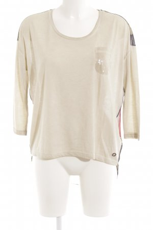 key largo girls Longsleeve florales Muster Transparenz-Optik