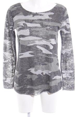 key largo girls Rundhalspullover Camouflagemuster Casual-Look