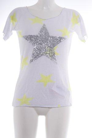 key largo girls Camisa tejida Patrón de estrellas look casual