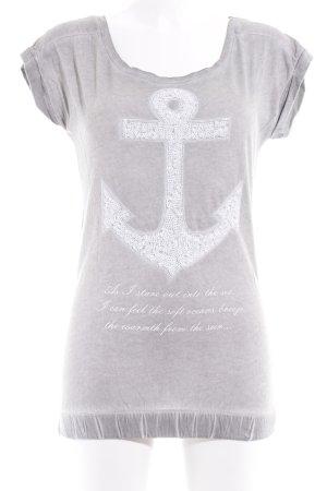 key largo girls T-Shirt grau-wollweiß Casual-Look