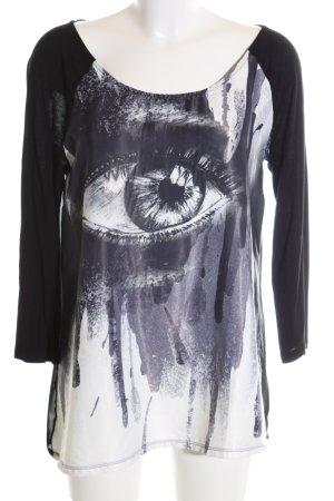 key largo girls Transparenz-Bluse abstraktes Muster Casual-Look