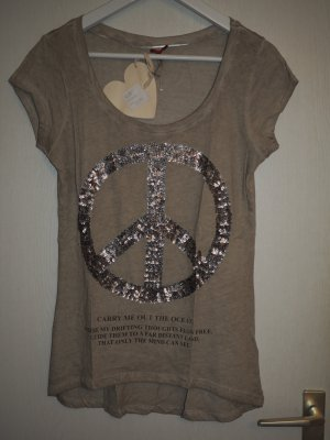 Key Largo Pailletten-Shirt
