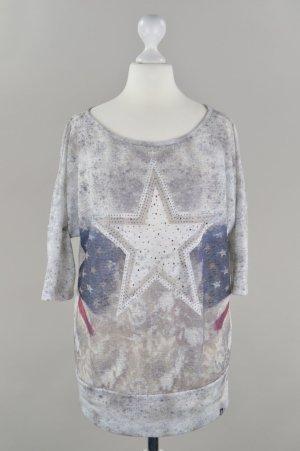 Key Largo Shirt mit Fledermausärmel grau Größe XS