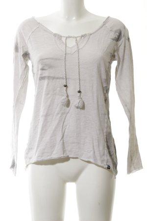 Key Largo Shirttunika hellgrau meliert schlichter Stil
