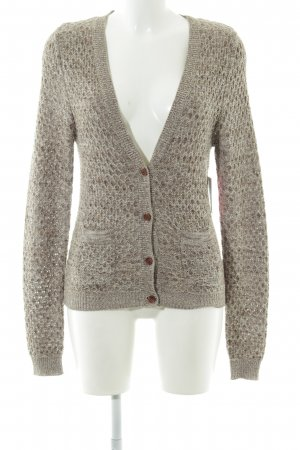 Key Largo Strickjacke braun Casual-Look