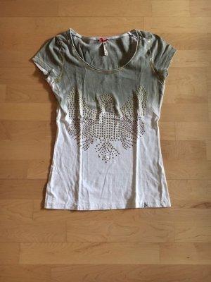 key largo t Shirt mit Pailletten, Größe XS