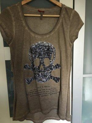 Key Largo Tshirt mit Totenkopf