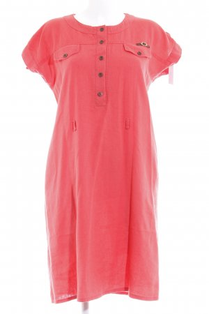 KG Shirt Dress bright red '90s style