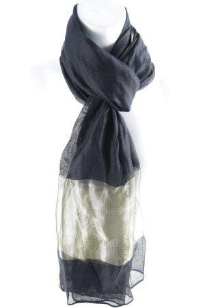 Khai Silk Seidentuch goldfarben-schwarz schlichter Stil