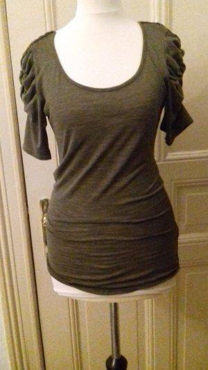 Khaki 3/4 ärmliges Tshirt