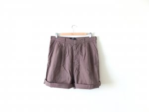 khaki Amisu High Waist Shorts Gr. 40 38 Bermuda New Yorker