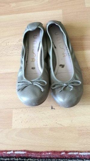 Khaki Ballerinas von Unisa