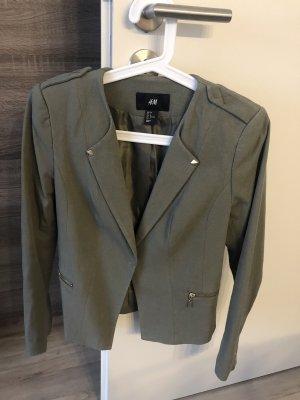Khaki Blazer H&M Gr. 36