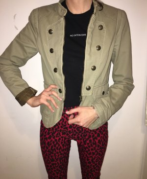edc by Esprit Denim Blazer khaki cotton