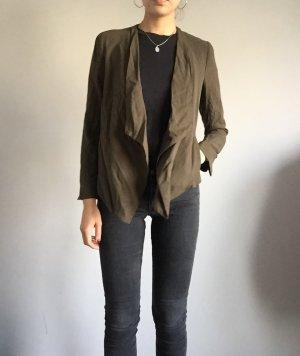 Khaki Blazer Zara