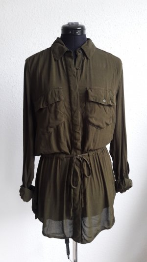 Khaki Bluse in M von LTB