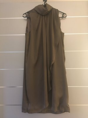 Khaki/Braunfarbendes Kleid Vero Moda Gr. S