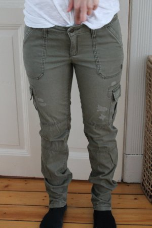 khaki cargo jeans hose Abercrombi & Fitch blogger hipster