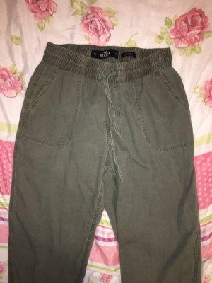 Hollister Pantalone cargo cachi-verde oliva