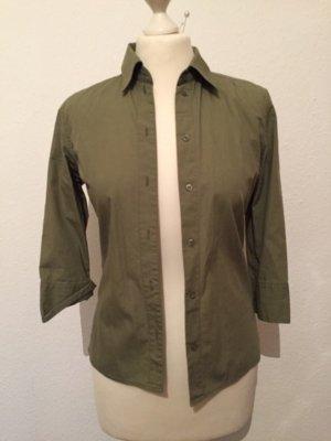 Khaki farbene Bluse von L.O.G.G