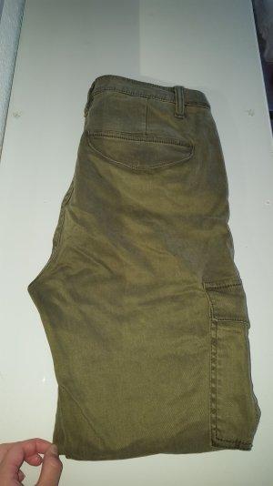 Khaki Farbene Hose aus H&M
