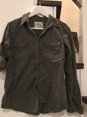 Khaki farbenes Hemd