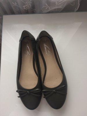Bonita Mary Jane Ballerinas grey brown imitation leather