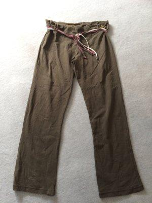 khaki / grüne Jogginghose / Yogahose von TCM / Tchibo - Gr. 44/46