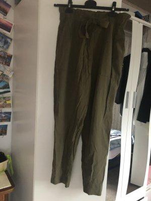 khaki high waist Hose