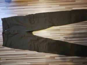 H&M Pantalon taille haute kaki