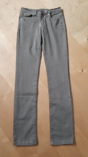 Joker Pantalón de color caqui marrón grisáceo-caqui