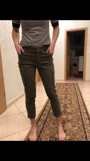 Just Fab Pantalone cargo cachi